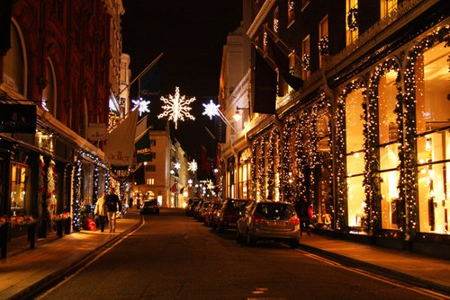 new bond street - London Christmas Decorations